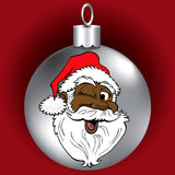 Santa Face Ornament Stock Image