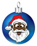 Santa Face Ornament Stock Photos