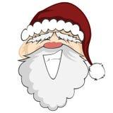 Santa Faces Imágenes de archivo libres de regalías