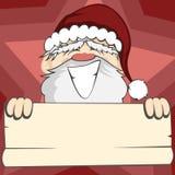 Santa Faces Foto de archivo libre de regalías
