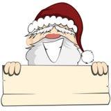 Santa Faces Stock Photography