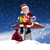 Santa/faderjul Royaltyfria Bilder