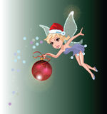 Santa Fairy Stock Photos