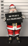 Santa Father Christmas mug shot Stock Photo