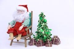 Santa fatiguée Photo stock