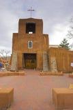 Santa Fe church Royalty Free Stock Photos