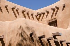 Santa Fe Adobe Stockfoto