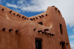 Santa Fe Adobe Stockfotos