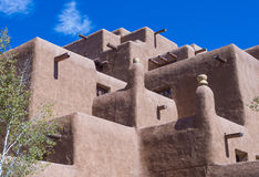 Santa Fe Adobe architecture Royalty Free Stock Photo