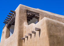 Santa Fe Adobe architecture Royalty Free Stock Photography