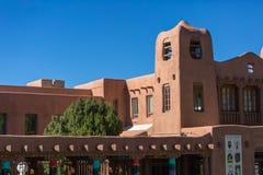 Santa Fe Architecture Imágenes de archivo libres de regalías