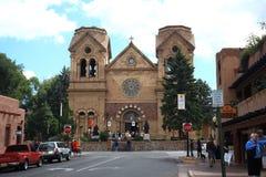 Santa Fe - Basilica of St. Francis of Assisi Stock Image