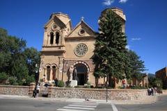 Santa Fe - Basilika von St Francis von Assisi Lizenzfreie Stockfotos