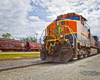 santa fe cargo train Royalty Free Stock Photo