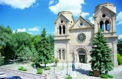 Santa Fe Cathedral Royalty Free Stock Photos