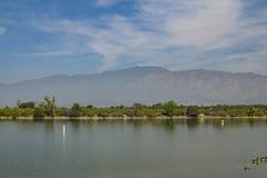 Santa Fe Dam Recreation Area arkivfoto