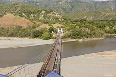 Santa Fe de Antioquia Antioquia, Colombia - bro av det västra Royaltyfria Bilder