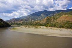 Santa Fe de Antioquia, Antioquia, Kolumbien - Brücke des Westens Lizenzfreies Stockfoto