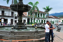 Santa Fe de Antioquia - Colombia Arkivbilder
