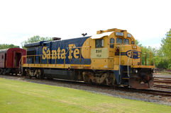 Santa Fe Diesel-Electric Locomotive Stock Photography