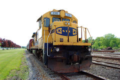 Santa Fe Diesel-Electric Locomotive Stock Photo