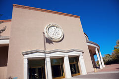 Santa Fe - entrance to State Capitol Building. Royalty Free Stock Photo