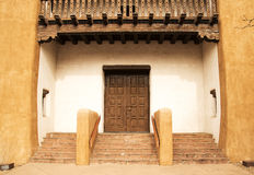 Santa Fe Entryway Arkivfoto