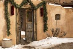 Santa Fe Entryway Royalty Free Stock Photo