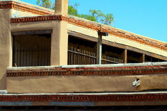 Santa Fe federal period building Royalty Free Stock Images