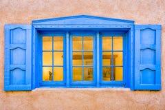 Santa Fe galerii okno Obrazy Stock