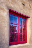 Santa Fe Gallery Window Stock Photography
