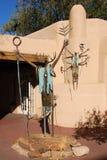 Santa Fe garden art. Garden art Santa Fe, New Mexico Royalty Free Stock Images