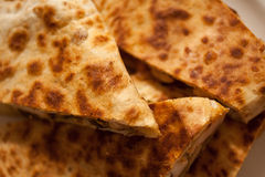 Santa Fe Grilled Chicken Quesadilla Stock Images