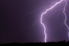 Santa Fe Lightning Royalty Free Stock Images