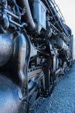 Santa Fe lokomotywa 5021 przy Sacramento linii kolejowej muzeum zdjęcia stock