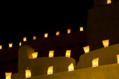 Santa Fe Luminarios Immagine Stock Libera da Diritti