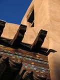 Santa Fe Museum. Detail, Santa Fe Art Museum, Santa Fe, New Mexico, USA Stock Photography