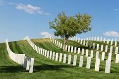 Santa Fe National Cemetery Royalty Free Stock Photo