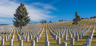 Santa Fe National Cemetery Royalty Free Stock Image
