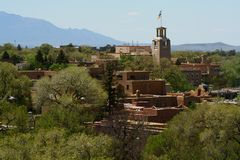 Santa Fe, New Mexico Royalty Free Stock Images