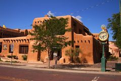 Santa Fe, New Mexico Architecture royalty free stock image