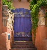 Santa Fe New Mexico storica Fotografie Stock Libere da Diritti