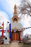 Santa Fe, New Mexico: Tibetan Buddhist Temple Royalty Free Stock Image
