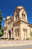 Santa Fe, New Mexico, USA. Church in Santa Fe, New Mexico, USA Royalty Free Stock Images