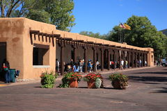 Santa Fe - Palace of the Governors Stock Images
