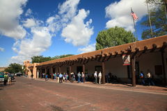 Santa Fe - Palace of the Governors Stock Photos