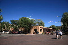 Santa Fe - Palace of the Governors Royalty Free Stock Image