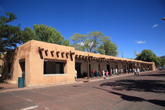 Santa Fe - Palace of the Governors Stock Image