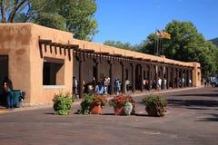 Santa Fe - Palast der Regler stockbilder