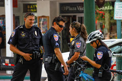 Santa Fe Police Foto de archivo libre de regalías